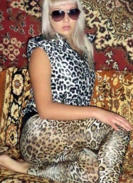 Леопардовая безвкусица