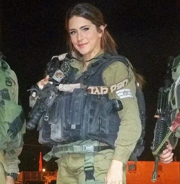 Орин Джули - очаровательный ветеран израильской армии