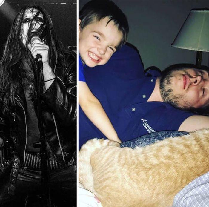 Жизнь до и после рождения детей