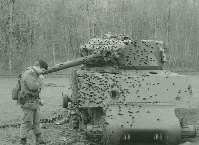 Выстоявшая военная техника
