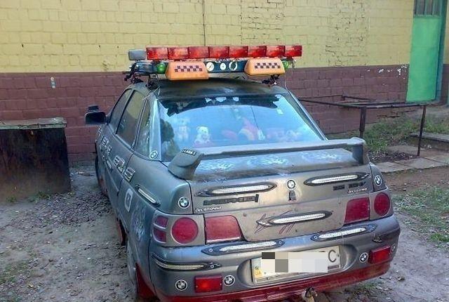 Нелепый автотюнинг