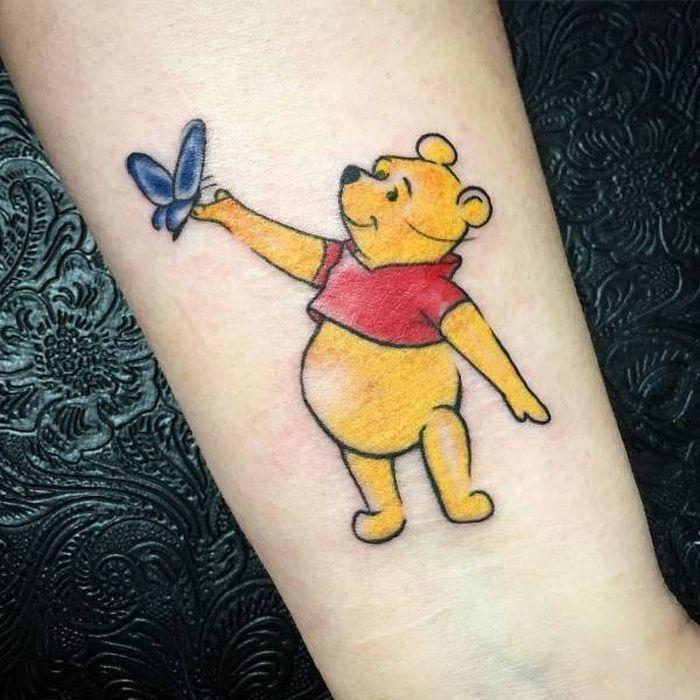Детские татуировки для взрослых