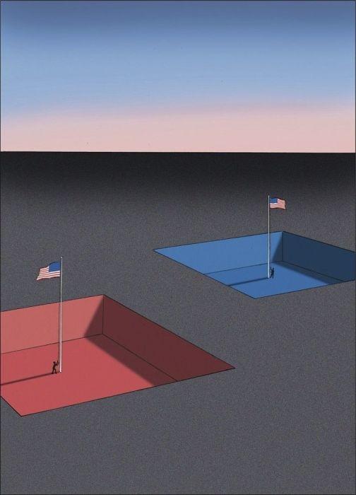 Сюрреалистичные рисунки Ги Бийю
