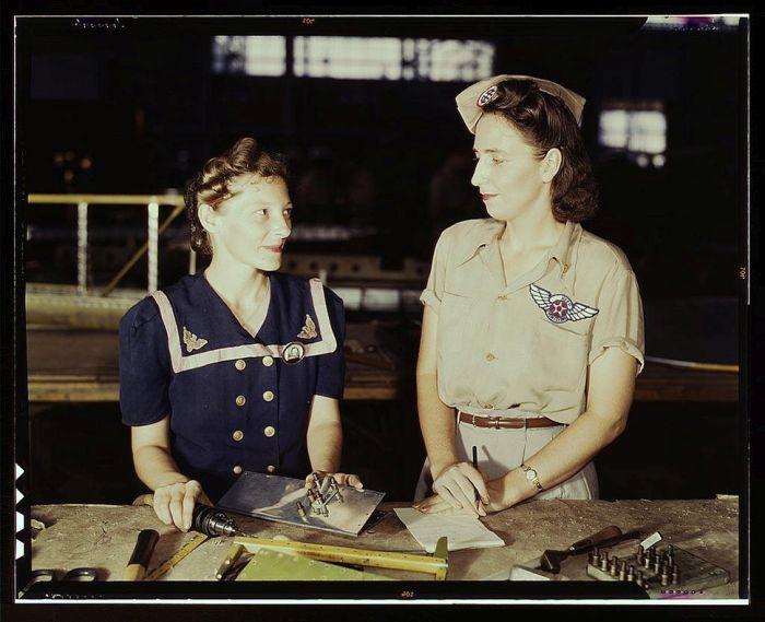 Колоризированные фото времен Второй мировой войны