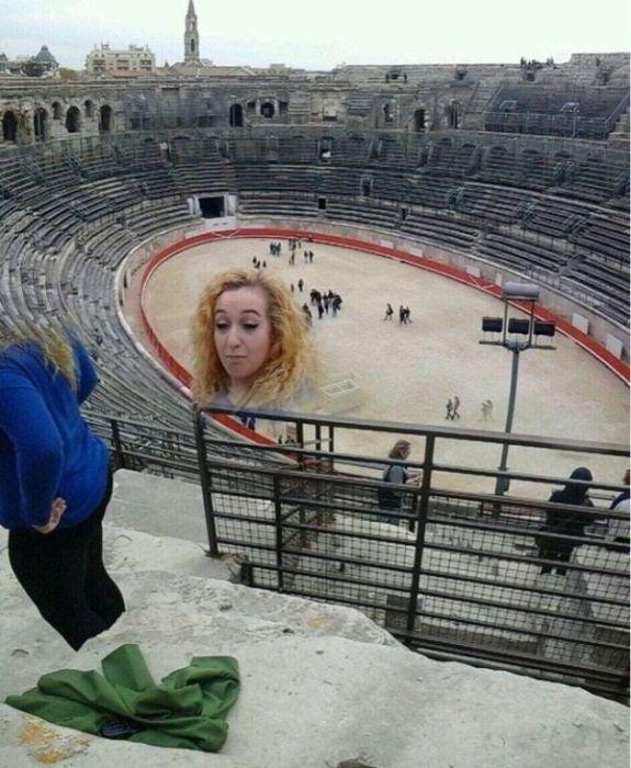 Неудачная панорамная съемка
