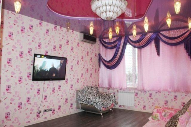 Роскошь по-русски в кемеровской квартире
