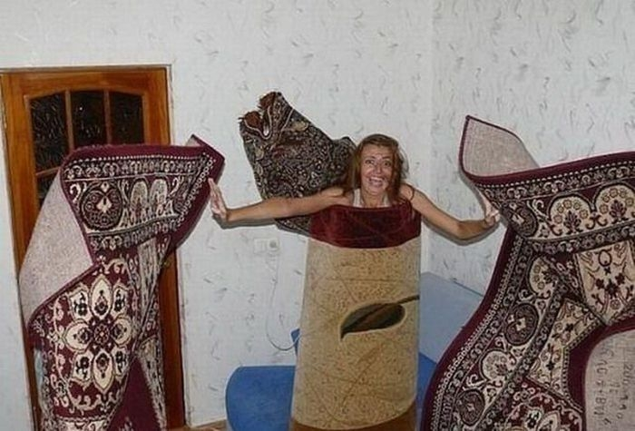 Прикольные фото с коврами