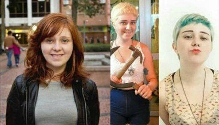 Как изменились девушки, проникшиеся идеями феминизма