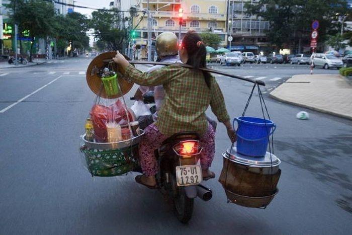 Странные снимки из Азии