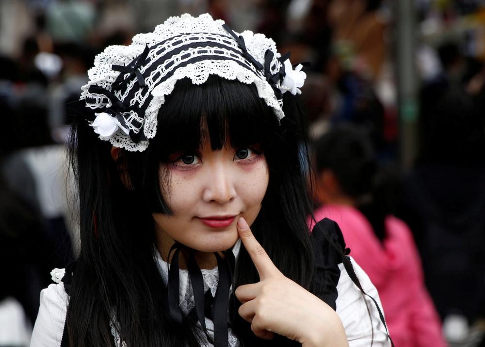 Люди в японии в картинках