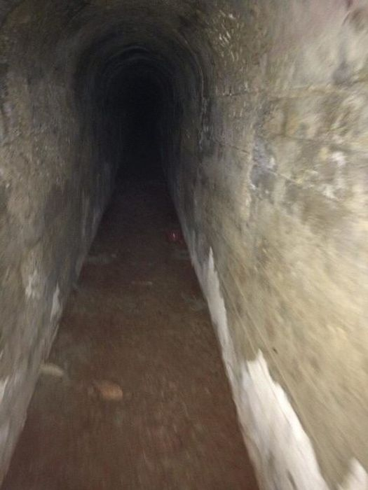 Заброшенный бункер времен Второй мировой войны на Тайване