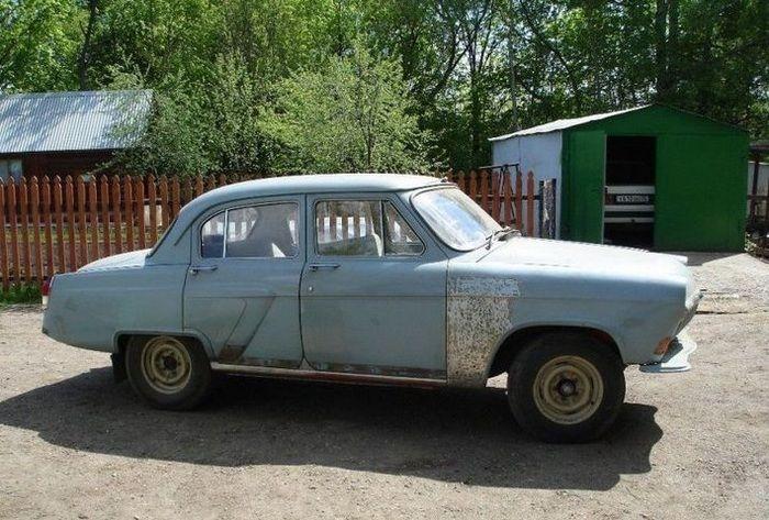 Восстановление ГАЗ-21