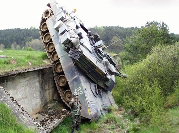 Аварии с танками