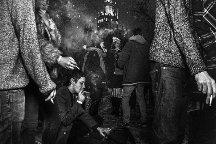 Столичные тусовщики на фото Арнольда Вебера