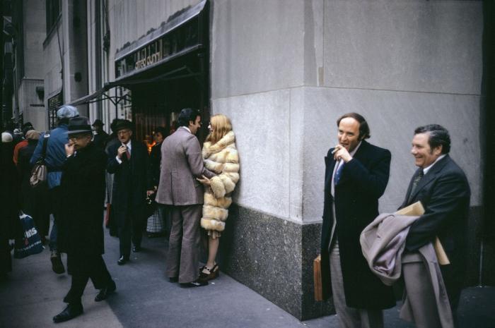 Уличные снимки Джоэла Мейеровица
