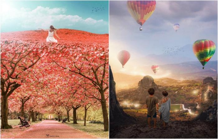 Сюрреалистические миры иранского художника