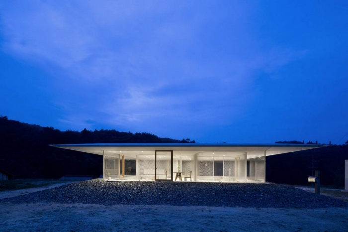 Прозрачный домик в Хиросиме