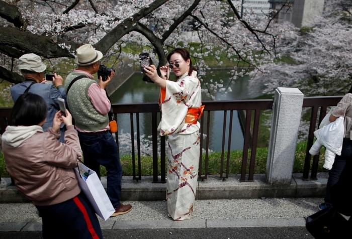 Интересные кадры из Японии