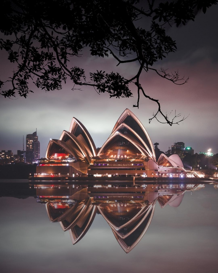 Австралия сверху на снимках Шая Купера