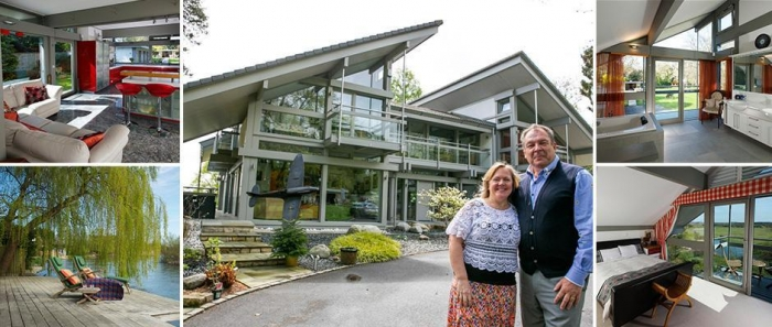 Британская пара разыгрывает свой дом за €3 000 000 в лотерею
