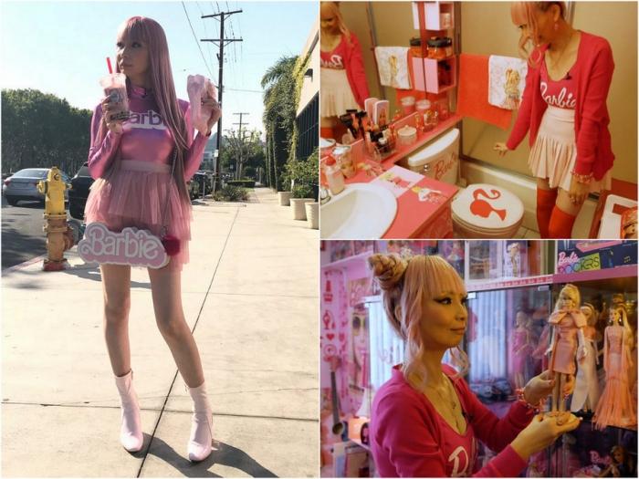 36-летняя поклонница куклы Барби