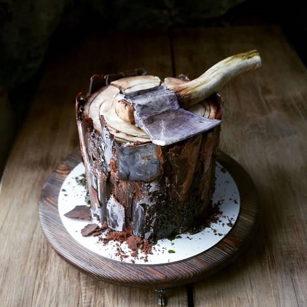 Торты, которые жалко есть