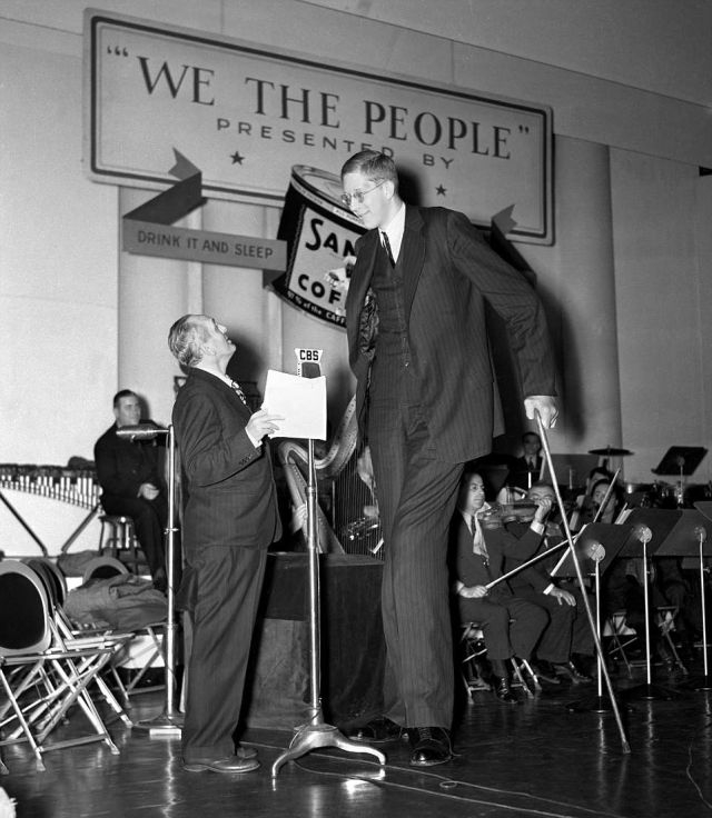 Роберт Уодлоу - самый высокий человек