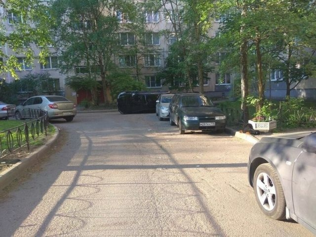 Месть за неправильную парковку