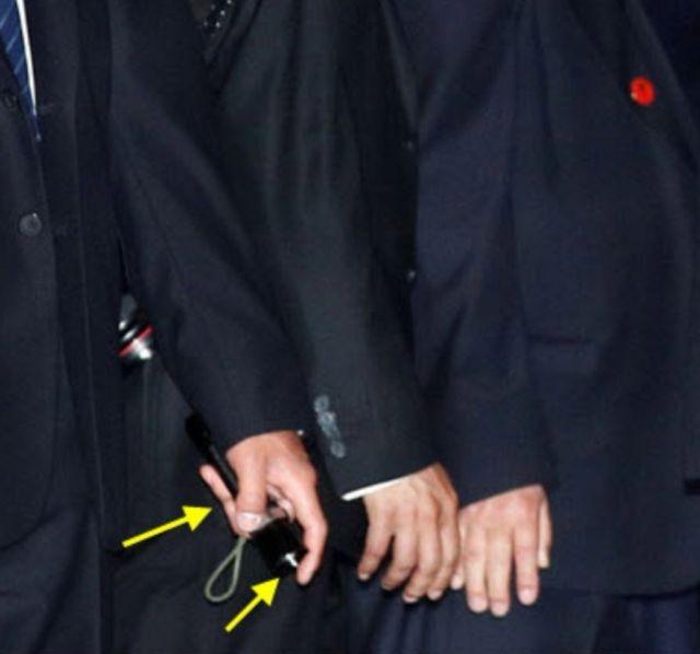 Суровые телохранители Ким Чен Ына
