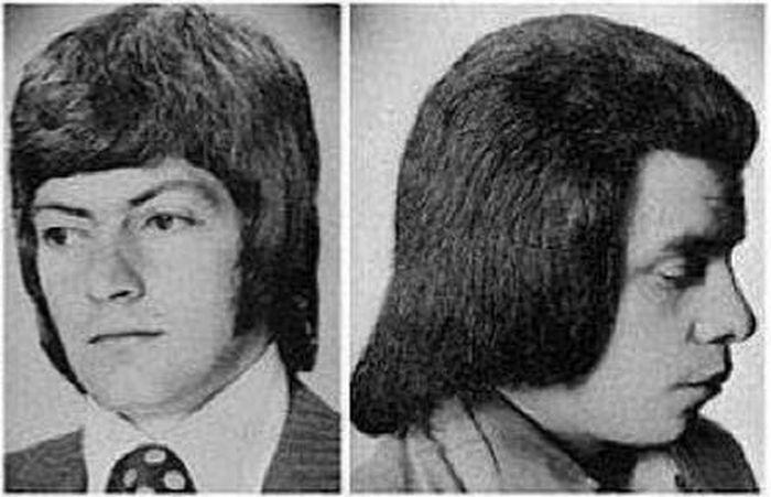 Модные прически 70-х