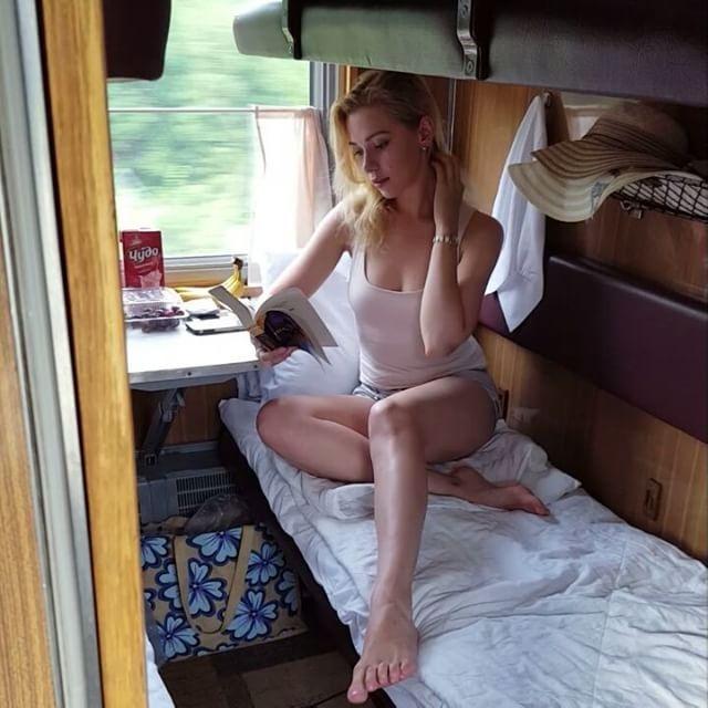 Девушки в российских поездах