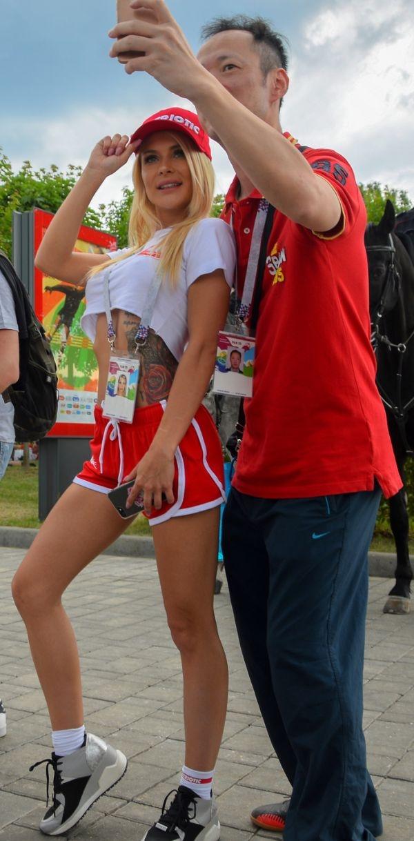 Болельщицы из Польши на Чемпионате мира по футболу