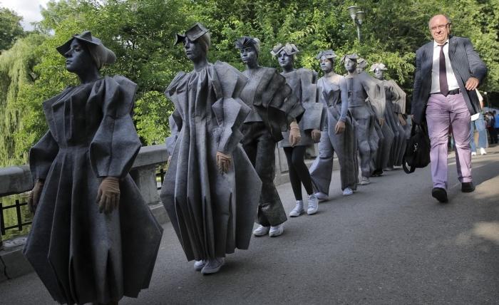 Международный фестиваль живых статуй