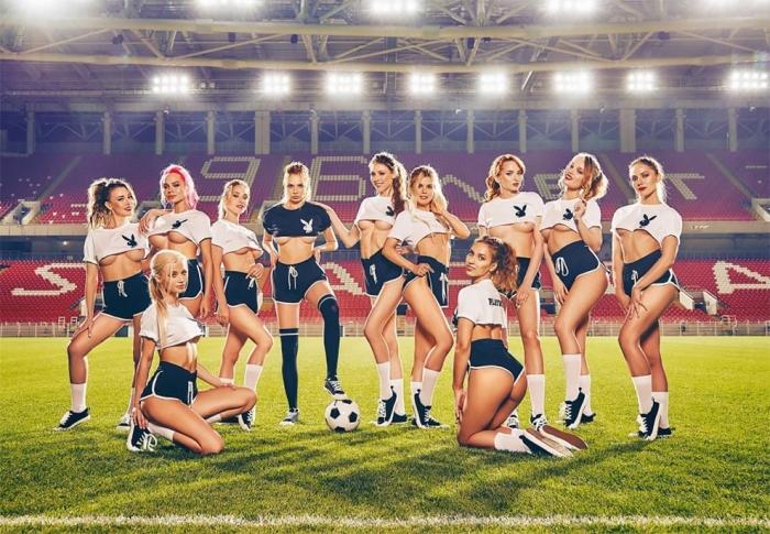 Девушки Playboy Чемпионата мира по футболу 2018 года