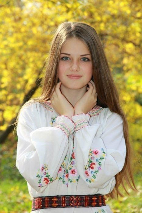 Милые девушки с природной красотой