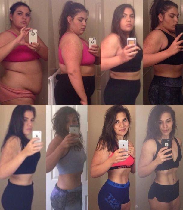 4 года усердного труда превратили 140-килограммовую девушку в стройную красотку