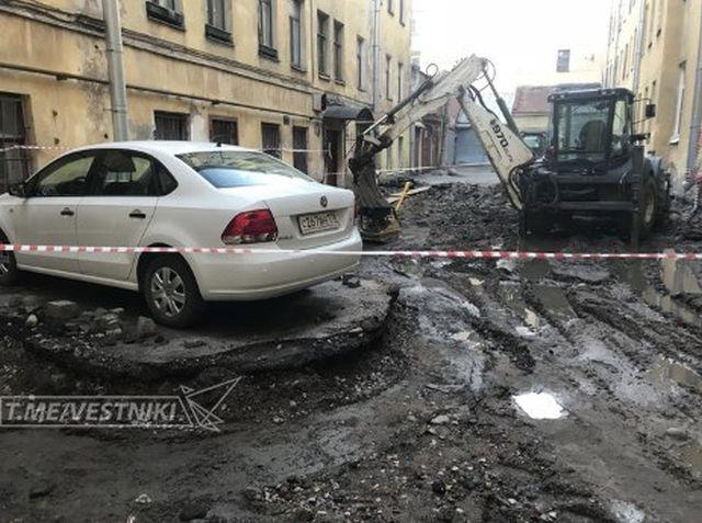 Водитель проигнорировал просьбу убрать автомобиль