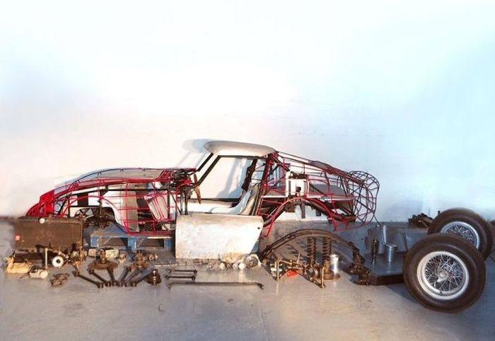 В морском контейнере нашли детали раритетной Ferrari 250 GTO
