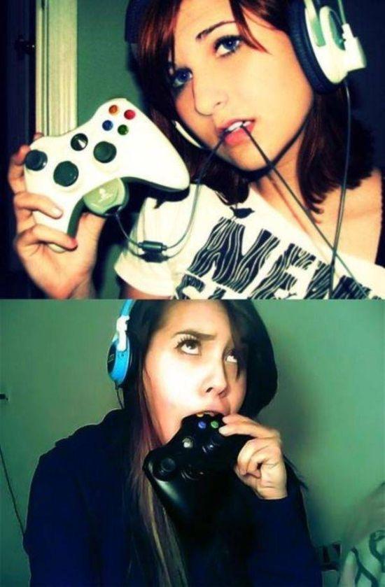 Девушки и видеоигры