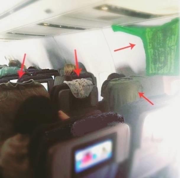 Пассажиры, которые не знакомы с правилами приличия
