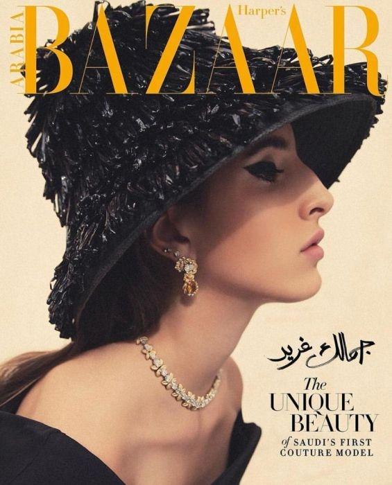 Первая модель из Саудовской Аравии принявшая участие в Неделе моды в Париже