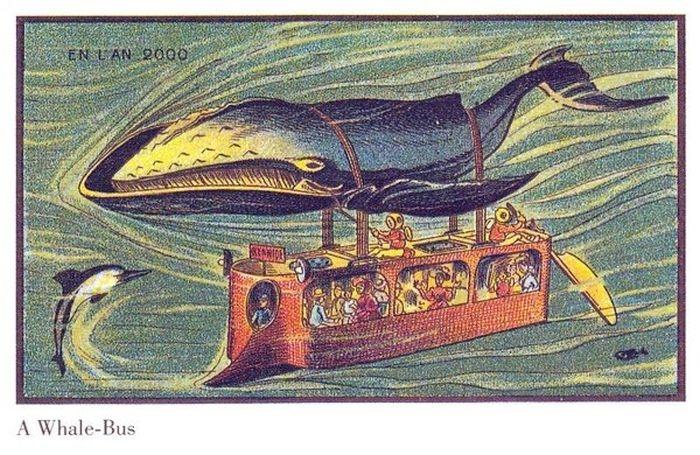 Рисунки 1910 года, отображающие будущее