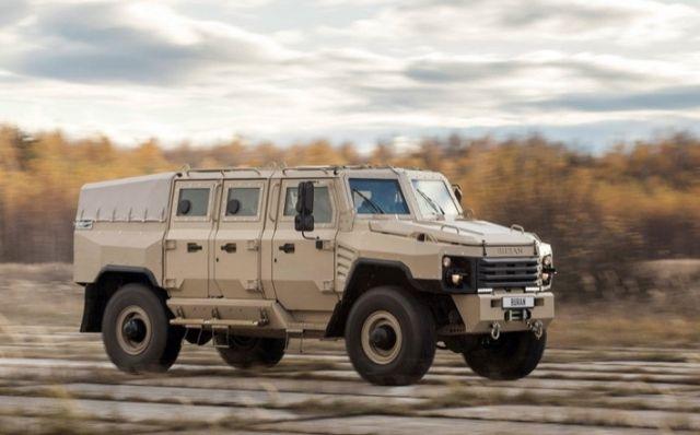 """Уникальный отечественный бронеавтомобиль """"Буран"""""""
