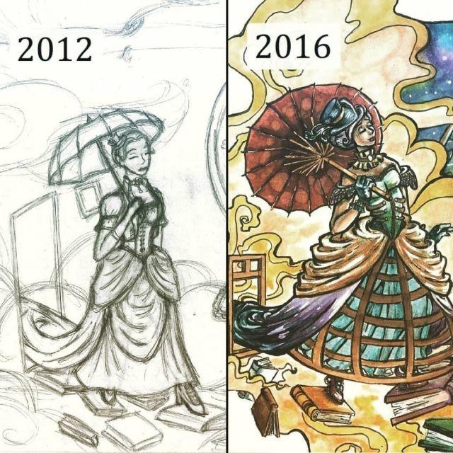 Художники перерисовывают свои старые работы
