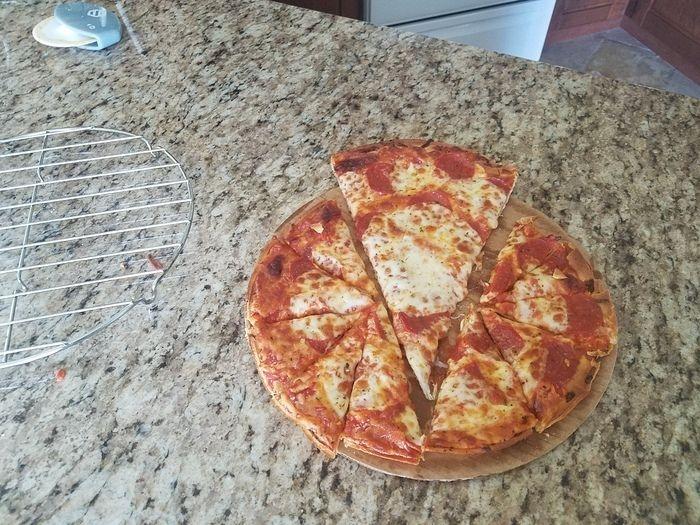Правильный способ разрезать пиццу