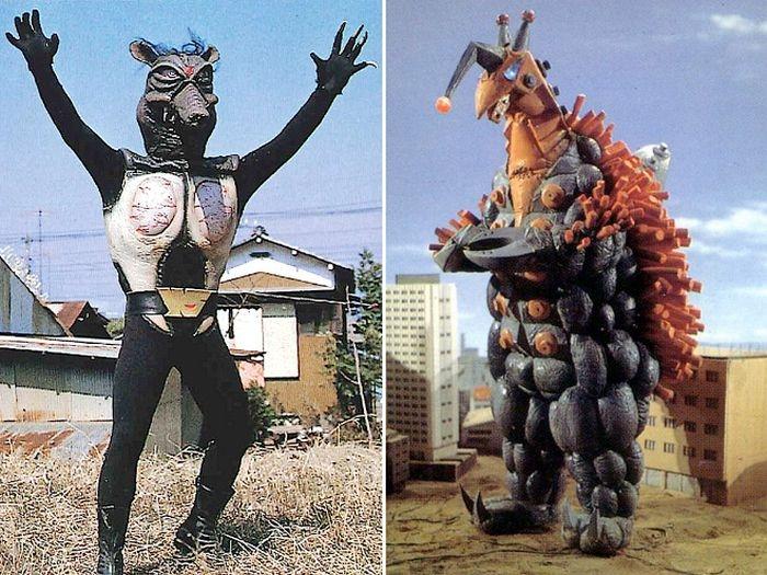 Монстры из мира старого японского кинематографа