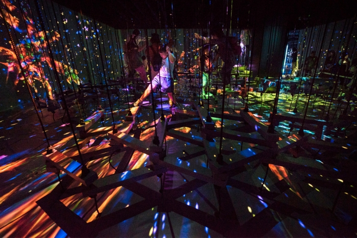 Новаторский музей цифрового искусства в Токио