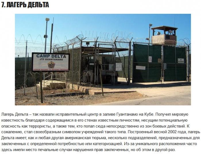 Топ-10 тщательно охраняемых тюрем мира