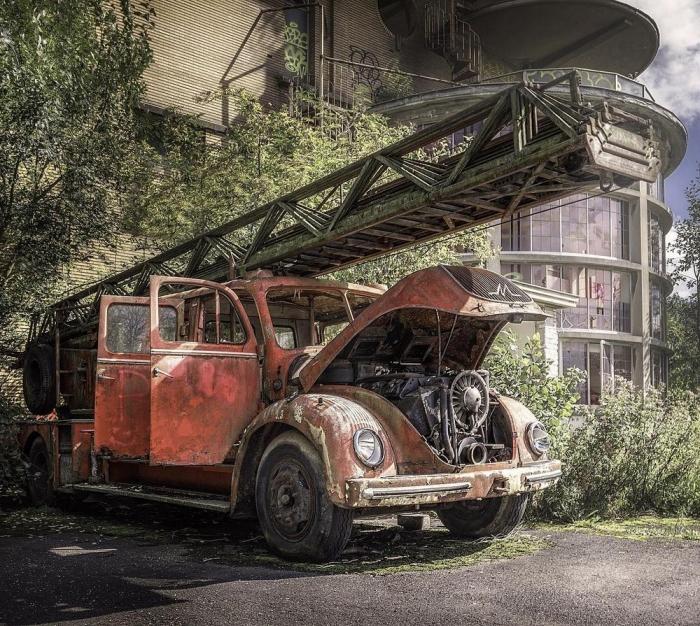 Покинутая Германия на снимках Маркуса Экке Ви Канте