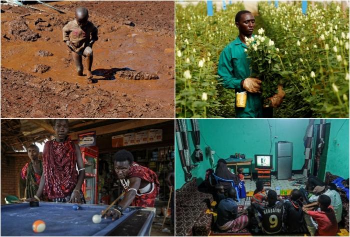 Кадры жизни в Африке